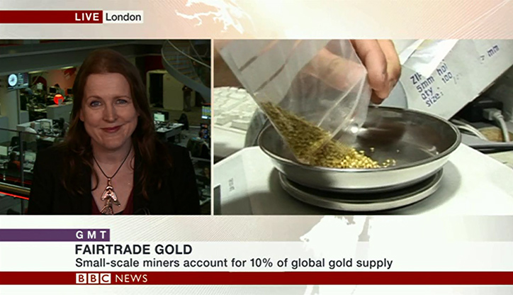 Harriet Kelsall BBC News Fairtrade Interview