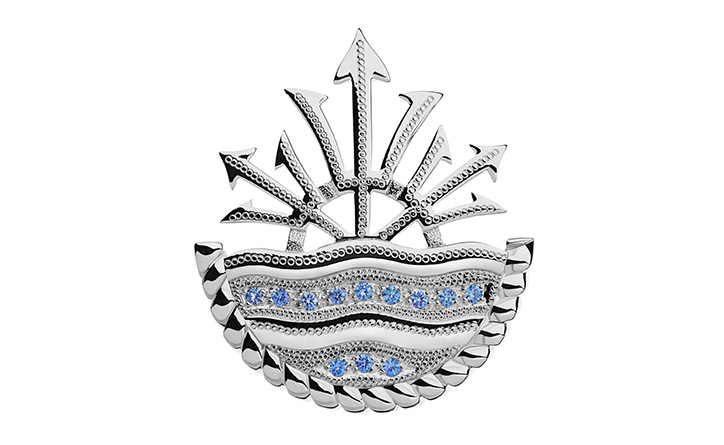 HMS Ocean Queen Brooch