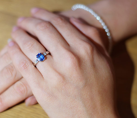 Great Sapphire Engagement Ring