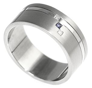 Iolite Wedding Ring