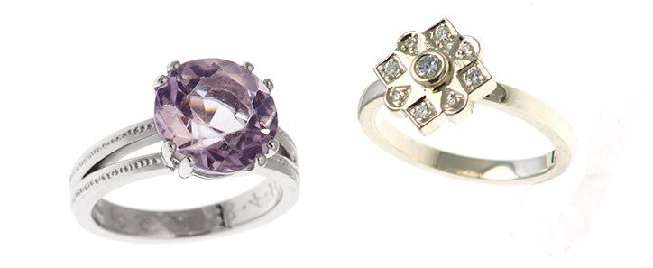 Antique and Modern Engagement Rings