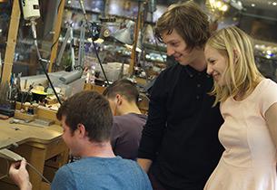 Visiting Halls Green Jewellery Studio