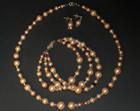 bespoke crystal and pearl wedding jewellery