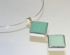 bespoke pendant made with marble slabs