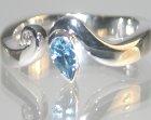 rhodium plated 18ct white gold engagement ring