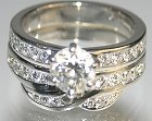 replacement0.03cts diamond into customers own platinum and diamond ring
