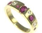 lesley wanted an eternity ring made using her own stones