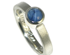 linda wanted a star sapphire engagement ring