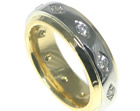 alan and lisa designed this eternity ring together