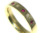 christine wanted a ruby and diamond eternity ring