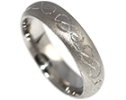 mike wanted celtic engraving on his wedding ring