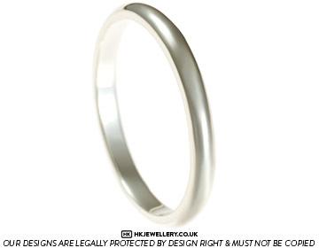 elegant 9ct white gold ladies wedding ring