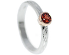 tom wanted to suprise chloe with a red garnet