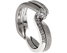 ashley's twist style caged wedding ring