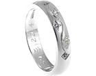 helen's beautiful bespoke sterling silver eternity ring