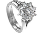 claire's platinum open tip wedding ring