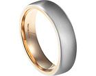 nathan's bespoke platinum and 9ct rose gold wedding band