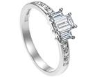 andrea's art deco inspired diamond engagement ring