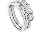 sue and calvin's palladium and diamond engagement ring