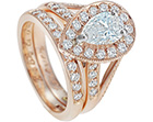 zareen's pave set diamond wedding ring