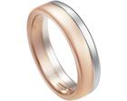 adrian's mixed metal wedding ring