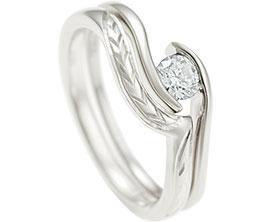 Wave Shaped Wedding Rings Harriet Kelsall