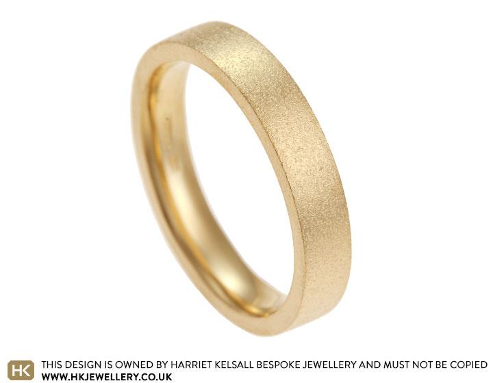 darioush s 18 carat yellow gold wedding band