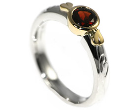 anns medieval inspired engagement ring with a beautiful - Medieval Wedding Rings