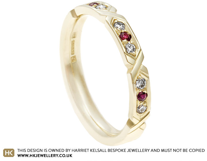 17119-fairtrade-9ct-yellow-gold-hexangonal-grain-set-ruby-diamond-eternity-ring_2.jpg
