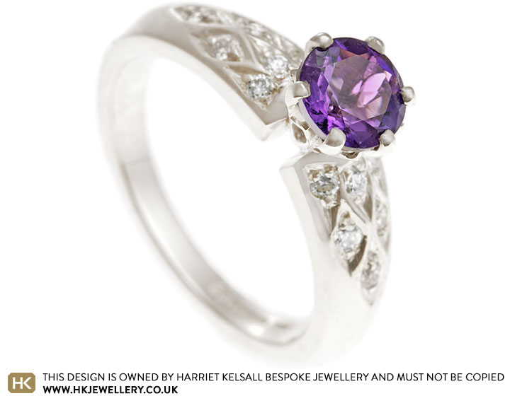 16975-Fairtrade-9-carat-white-gold-amethyst-and-diamond-patterned-ring_2.jpg