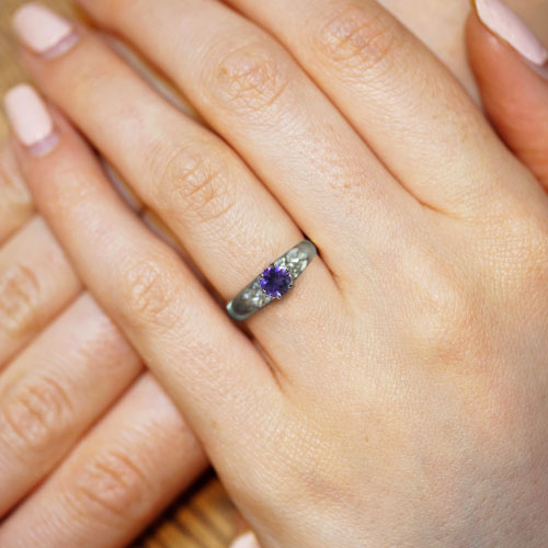 16975-Fairtrade-9-carat-white-gold-amethyst-and-diamond-patterned-ring_5.jpg