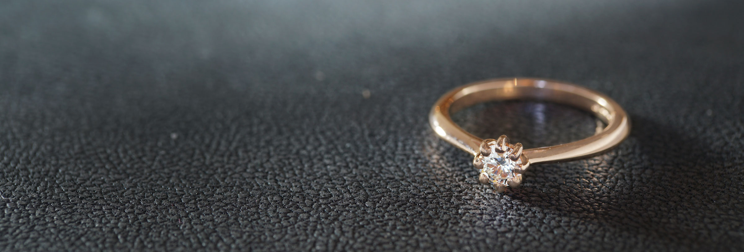 Fairtrade-9-carat-rose-gold-eight-claw-set-diamond-ring
