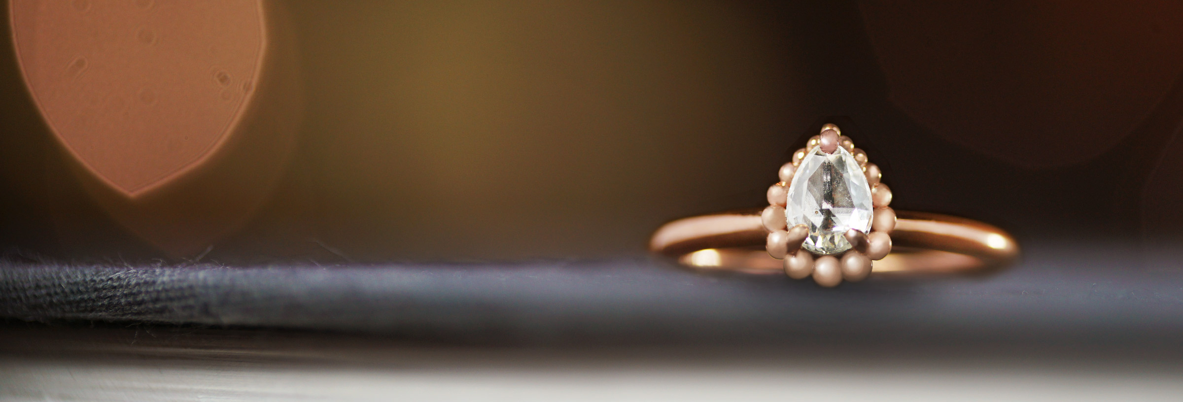 Fairtrade-rose-gold-with-pear-shaped-rose-cut-diamond