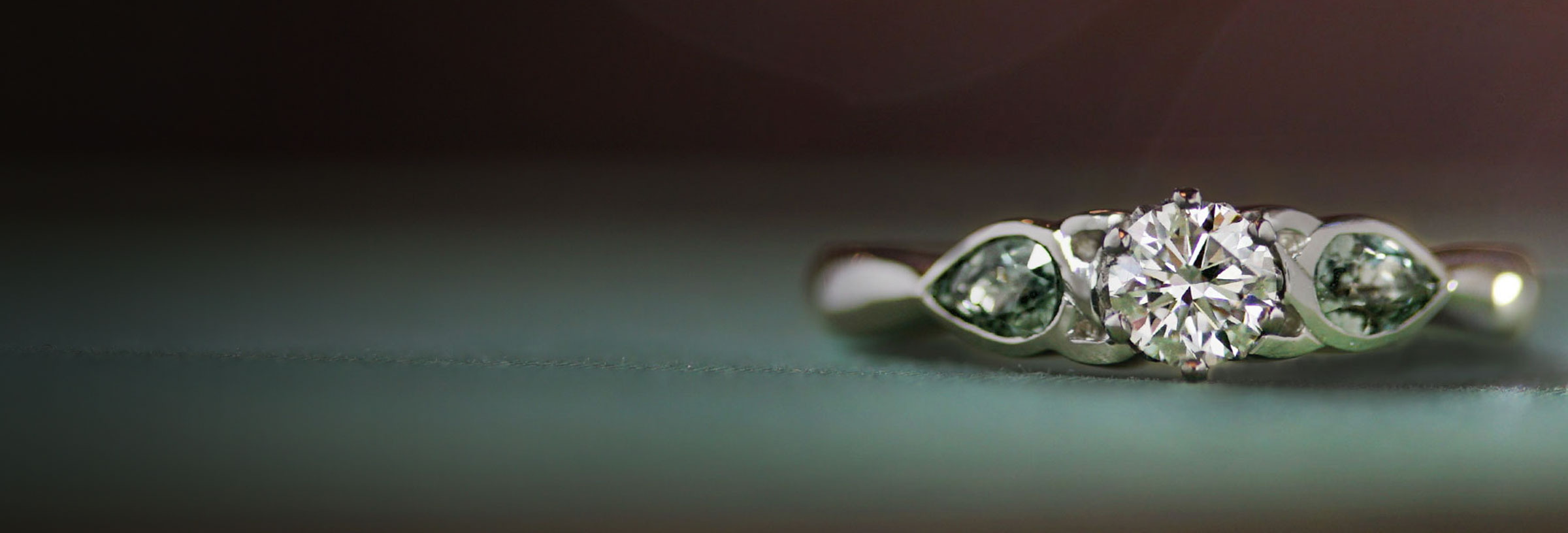 Celtic Inspired Platinum Engagement Ring with 0 35ct Diamond