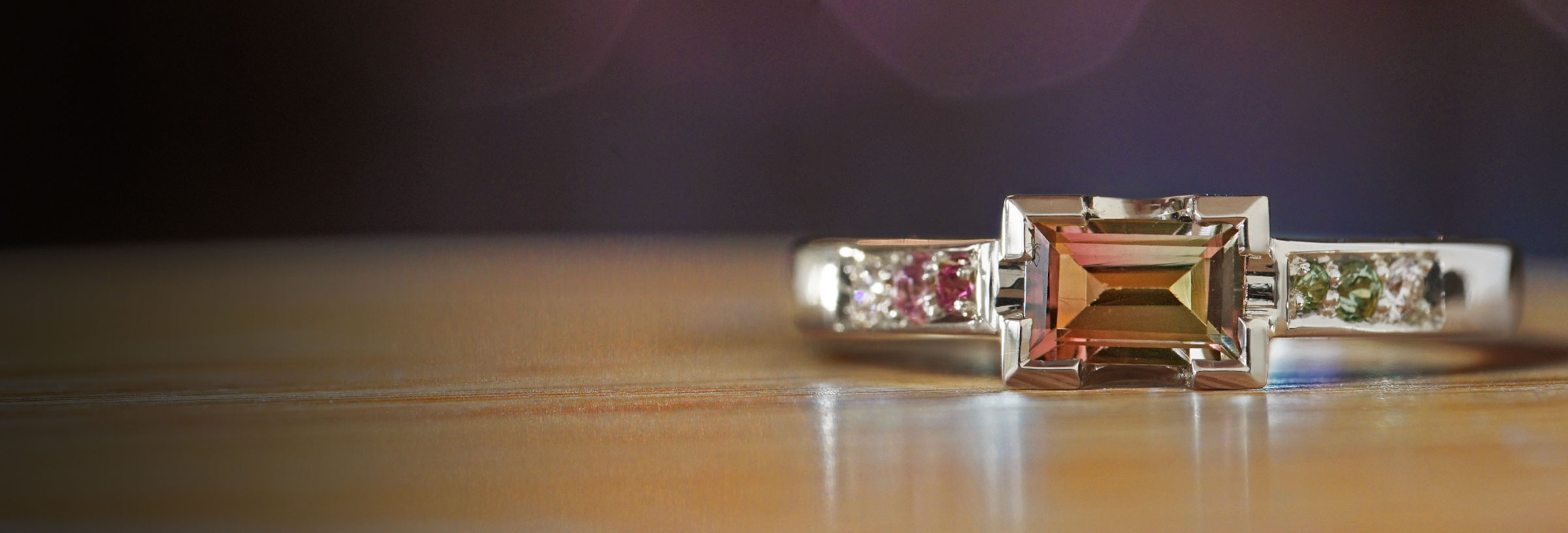 white-gold-watermelon-tourmaline-sapphire-and-diamond-engagement-ring