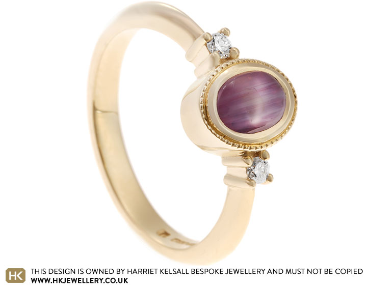 18939-yellow-gold-pink-star-sapphire-and-diamond-trilogy-engagement-ring_2.jpg