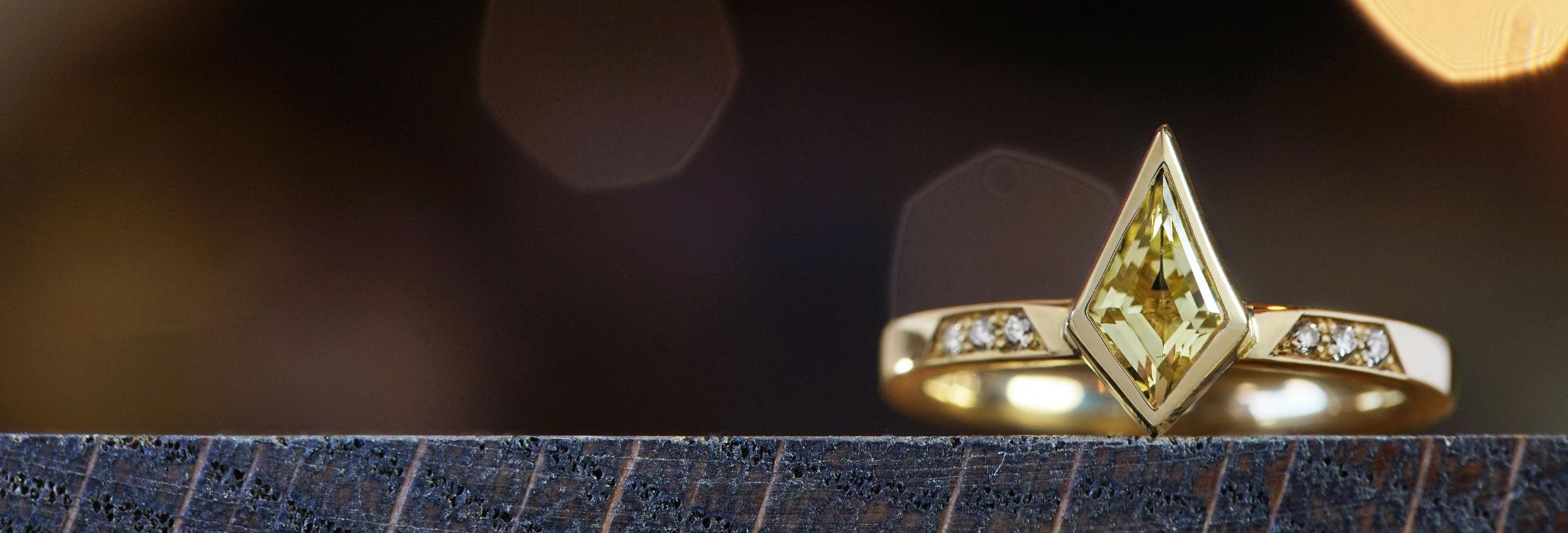 yellow-gold-kite-cut-yellow-tourmaline-and-diamond-engagement-ring