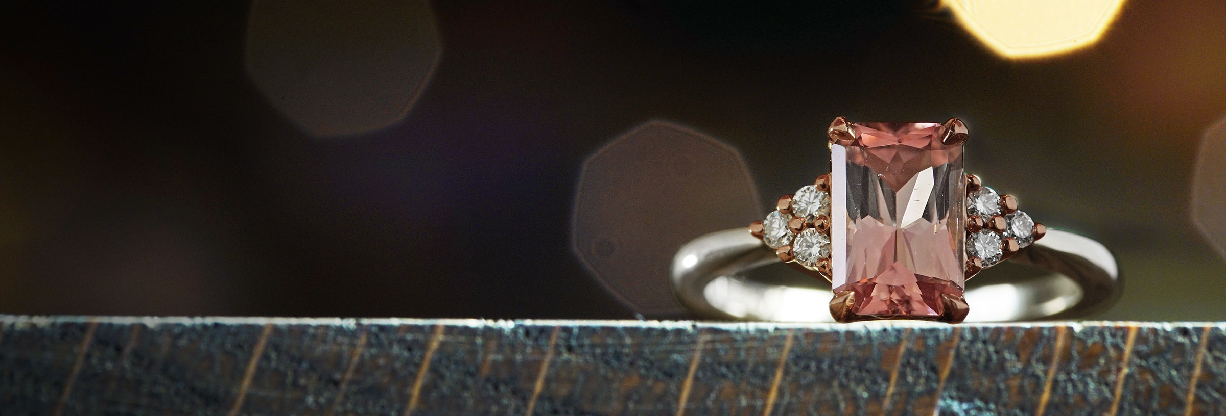 white-and-rose-gold-peach-tourmaline-and-diamond-engagement-ring