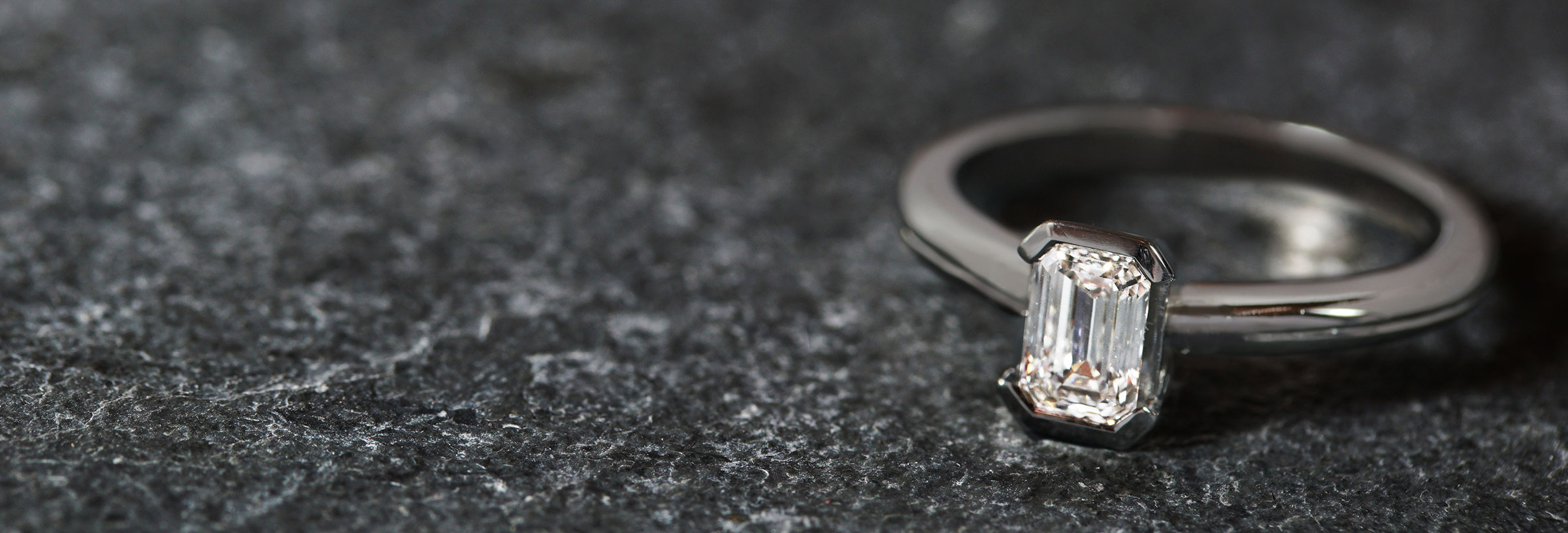 platinum-and-emerald-cut-diamond-engagement-ring