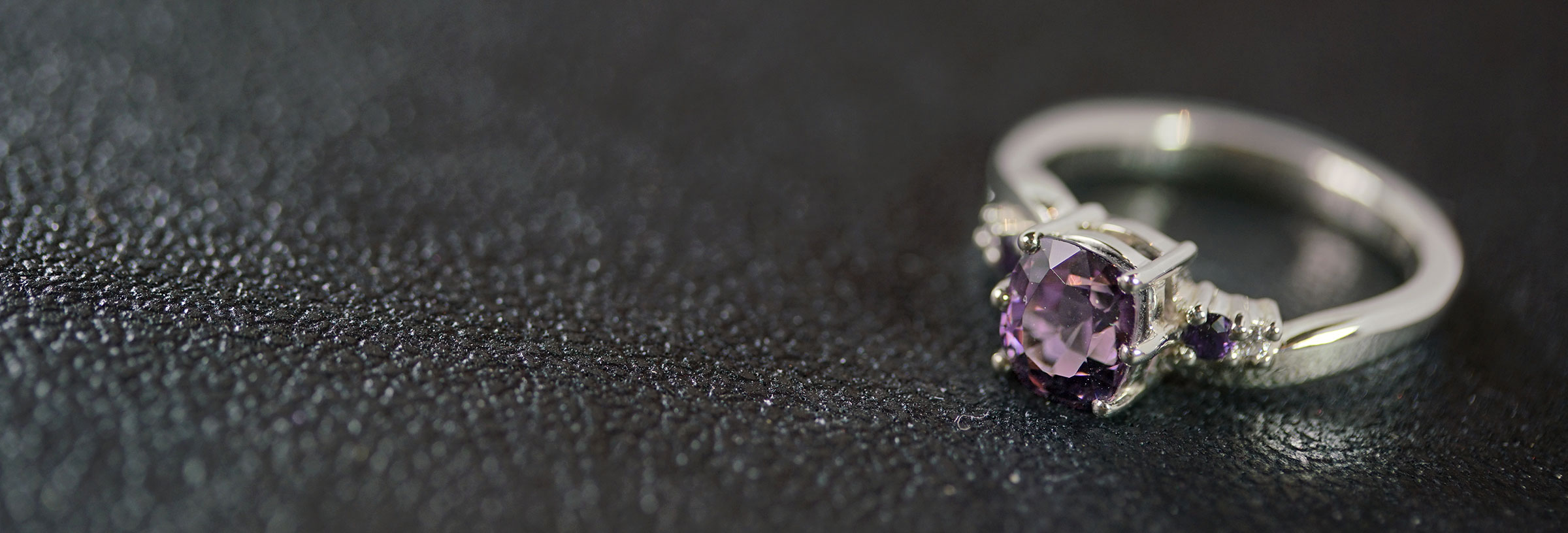 white-gold-sapphire-diamond-and-purple-spinel-engagement-ring
