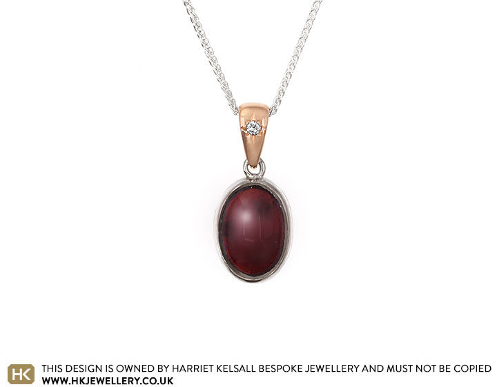 19754-sterling-silver-cabochon-garnet-pendant-with-rose-gold-and-diamond-bail_2.jpg