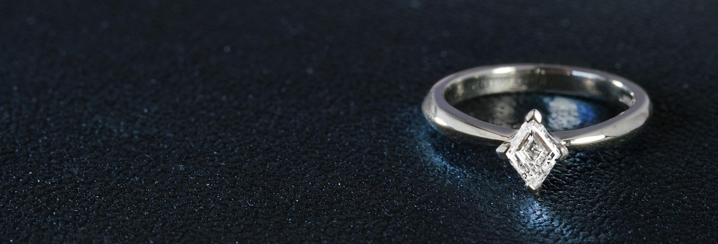 apex-palladium-and-kite-cut-diamond-engagement-ring