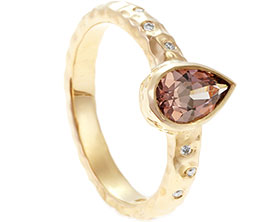 22296-hammered-yellow-gold-diamond-and-pear-cut-garnet-engagement-ring_1.jpg
