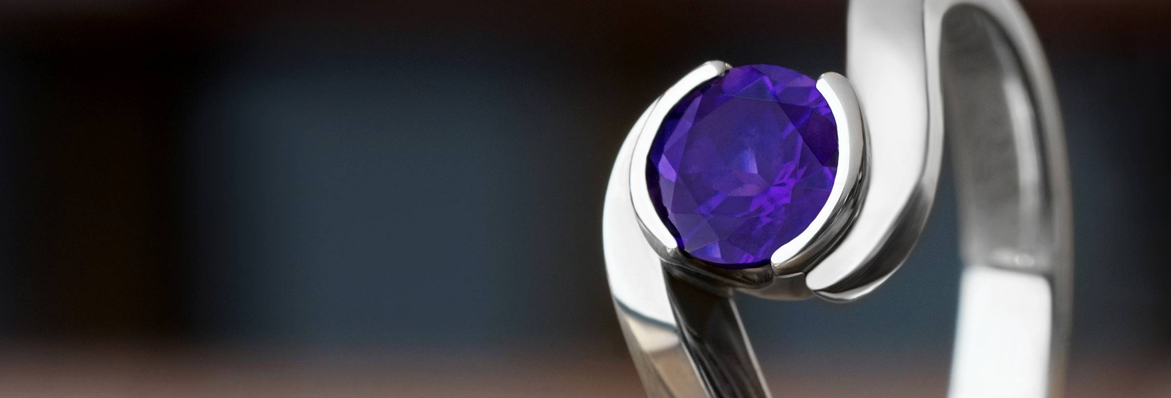 Amethyst Engagement Rings Information
