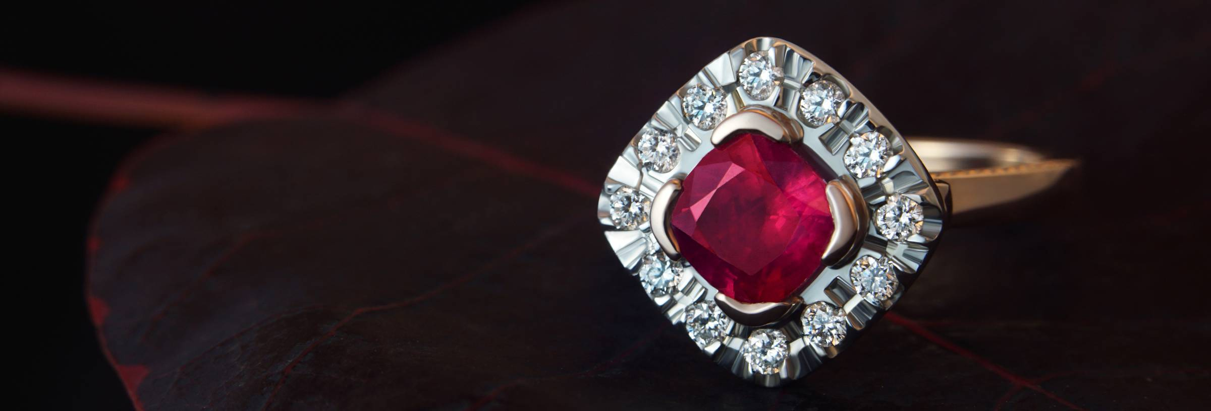 Ruby Engagement Rings Information