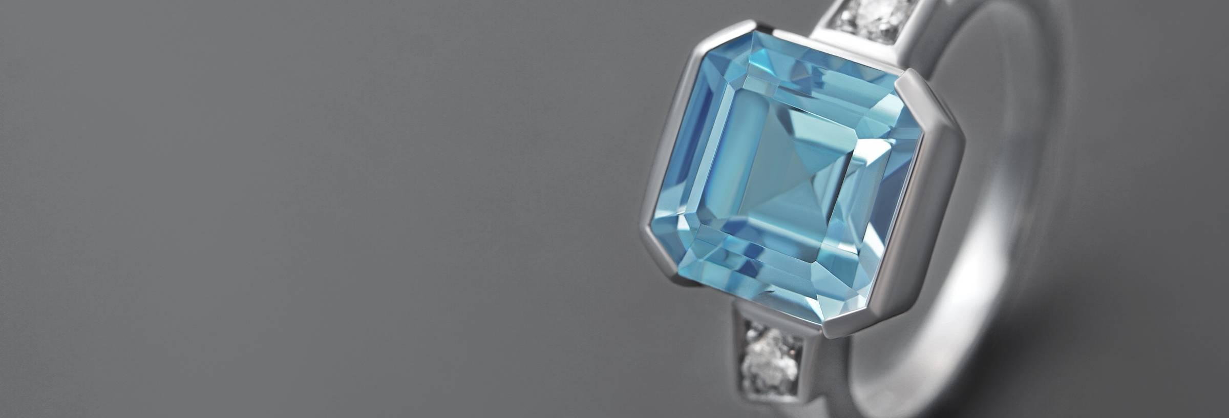 Topaz Engagement Rings Information