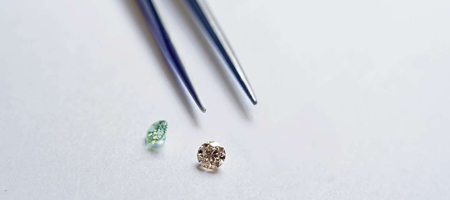 Heat Treated Diamonds