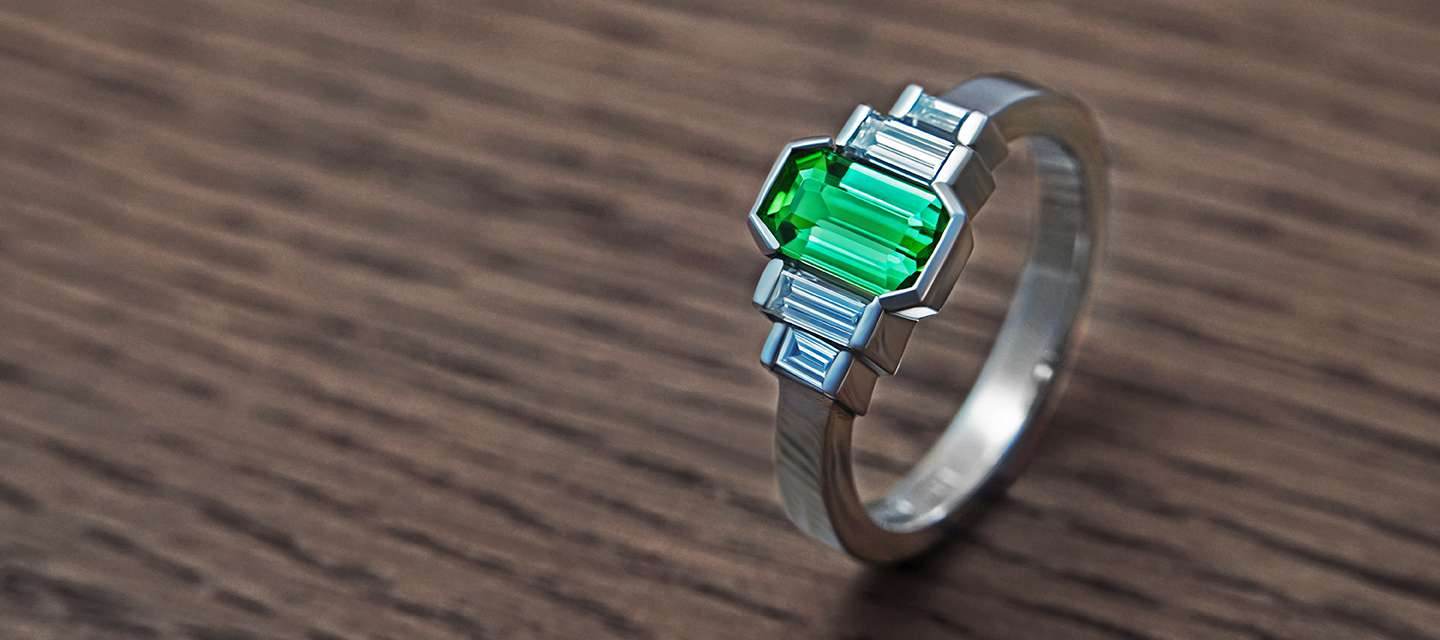 leaf cut fullxfull princess engagement tourmaline rings gold set il green white cd products ring