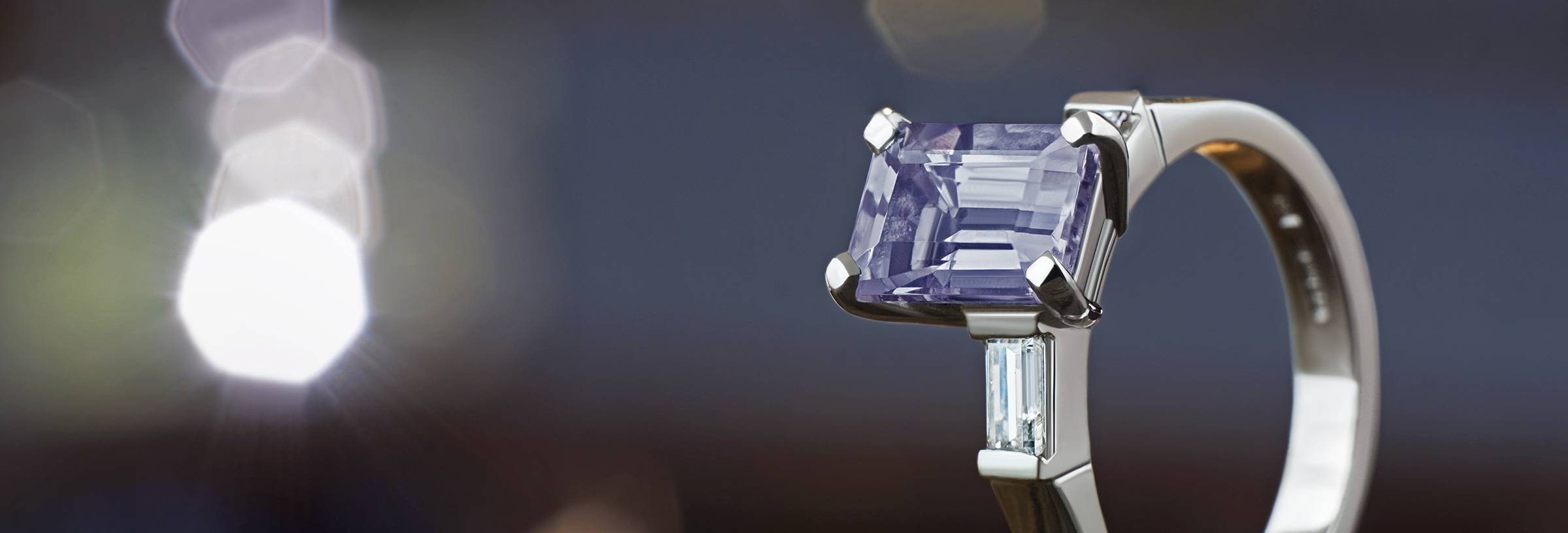 Iolite Engagement Rings Information