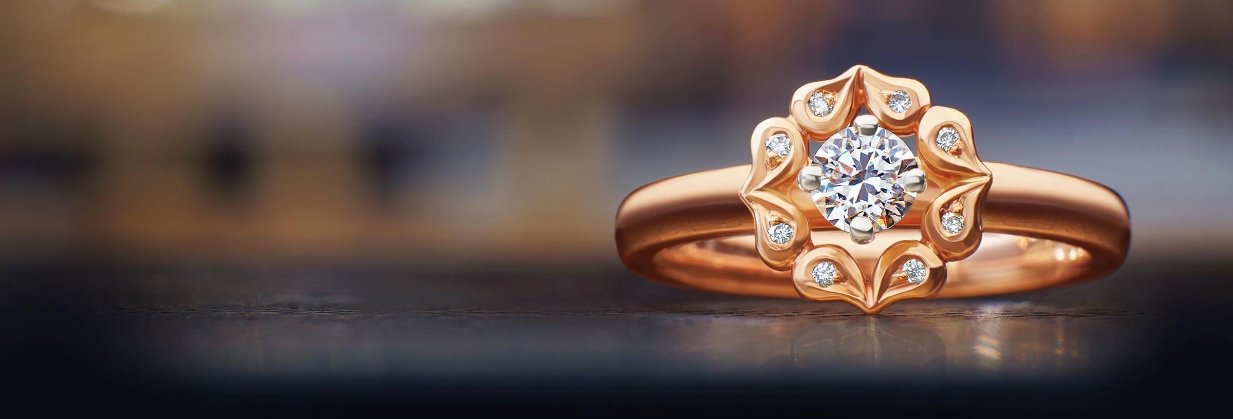 Best Of Rose Gold Wedding Ring Uk